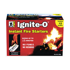 ignite o fire starter packets fs855 24 fireplace u0026 stove
