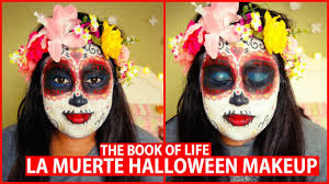 la muerte costume la muerte from the book of makeup tutorial
