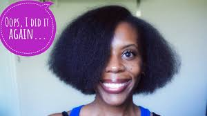 criwn hair cut haircut and crown breakage update on short 4c natural hair youtube