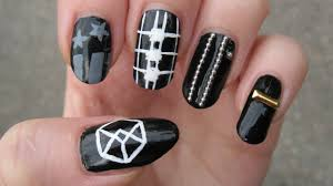 Baby Nail Art Design Kpop Exo Call Me Baby Nail Art Youtube