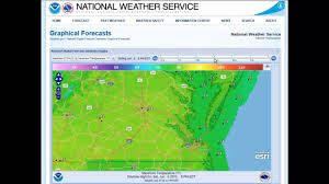 National Weather Forecast Map National Weather Service Digital Forecast Viewer Youtube