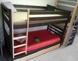 chambre lit superposé lit superposé bois secret de chambre