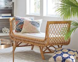 Mixing Furniture Styles by Indoor Rattan Furniture A Natural Art Form Grandin Road Blog