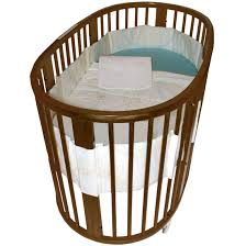 Portable Crib Bedding Stokke Sleepi Crib Bedding Set Circle Blue Crib Portable