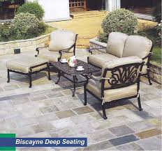 Biscayne Patio Furniture by Casa Casual Outdoor Cast Aluminum Furniture Casa Casual Biscayne
