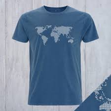 Personalized World Travel Map by Personalised World Travel Map T Shirt By Invisible Friend