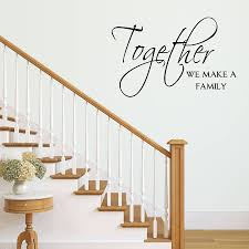 together we make a family wall sticker by mirrorin together we make a family wall sticker