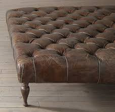 Brown Leather Ottoman Best 25 Leather Ottoman Ideas On Pinterest Tufted Leather
