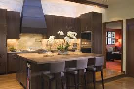 interior kitchen island kitchen design space around island