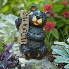walt disney garden statue ornament takasho disney swing pooh