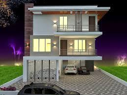 triplex home designs home design