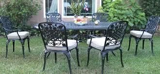 Aluminium Patio Table White Cast Iron Patio Furniture Metal Chairs New Aluminium Garden