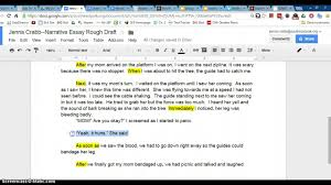 Sample Of A Narrative Essay Adding Dialogue To Narrative Youtube
