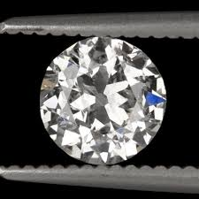 7mm diamond d color european cut 1 19ct vintage diamond 7mm certified
