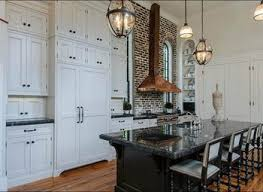 Kitchen No Cabinets Brown Wooden Kitchen Cabinet And Mocha Backsplash Connected By
