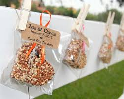 seed favors bird seed wedding favors tbrb info