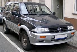 ssangyong musso wikipedia