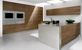 walnut veneer kitchen design art by allmilmo pinterest