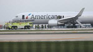 black friday airlines american airlines plane engine flung debris in rare risky failure