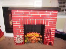 fake christmas fireplace binhminh decoration