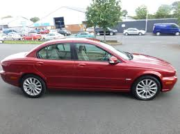 used red jaguar x type for sale cheshire