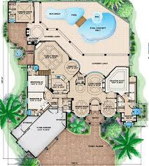 Mediterranean House Plans With Courtyard 35 Best House Plans Images On Pinterest House Floor Plans Small
