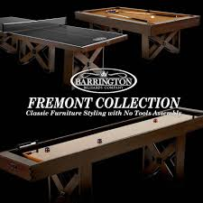Ping Pong Pool Table Barrington Fremont Collection Official Size Table Tennis Table