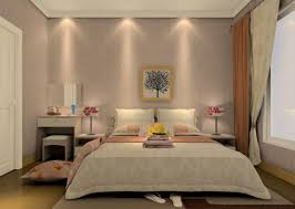 best pop design for small bedroom interior with beige color scheme