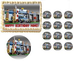 edible cake topper city rescue vehicles edible cake topper frosting sheet