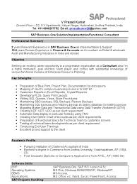 Sample Resume For Sap Mm Consultant Abap Fresher Resumes Download Virtren Com