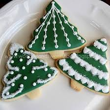 75 best christmas tree and wreath cookies images on pinterest