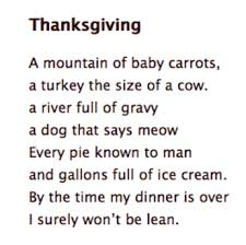 thanksgiving poem betterlesson