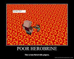 Minecraft Herobrine Memes - how herobrine got deleted minecraft by nolerrobert on deviantart
