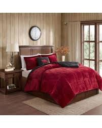 Twin Comforter Sale Holiday Sale Woolrich Alton Plush To Sherpa Twin Comforter Set In