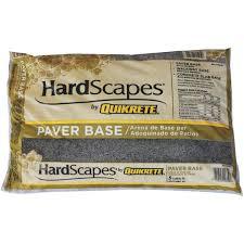 Patio Paver Calculator Tool Quikrete Paver Base Sand 1175 45 Do It Best
