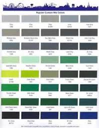 imron paint color chart to find the best color handy home design