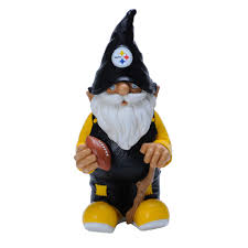 forever collectibles pittsburgh steelers 11 inch garden gnome