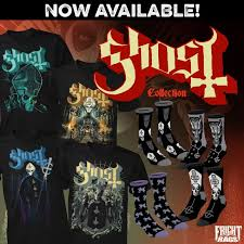 ghost teams with horror apparel company fright rags for exclusive