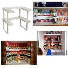 As Seen On Tv Spice Rack Organizer Spicy Shelf Patented Stackable Organizer Ebay