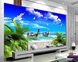 Cheap Wall Mural Online Get Cheap Beach Wallpaper Photos Aliexpress Com Alibaba