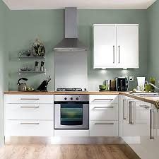 kitchen cabinet paint colors b q cooke lewis high gloss white kitchen ranges kitchen