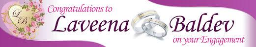Congratulations Engagement Banner Wedding Banner 21