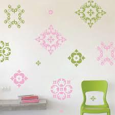 ornamental wall decals trendy wall designs