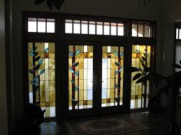 Frosted Glass Exterior Doors by Front Doors Chic Glass Front Door Insert Stained Glass Front