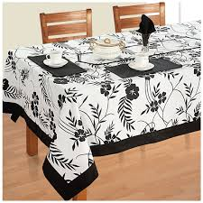 6 seater dinner party table linen set kitchen dining tablecloth