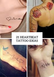 heartbeat tattoo with infinity the top 10 best blogs on women tattoos