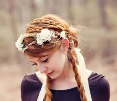 plait headband wide strand hair braided headband bridal braid plait