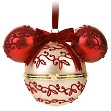 hinged mickey mouse ornament disney