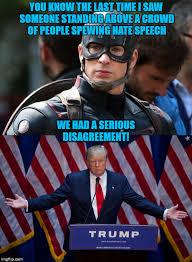 Captain America Meme - cap vs trump imgflip