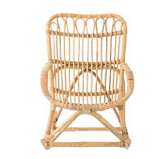 Mini Rocking Chair Mini Rocking Chair En Rotin Bloomingville